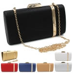 0202 Gold Line Accent Clutch