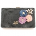 0877 Flower with Pearl Clutch