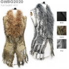 GWBG2020 Fur Rabbit Vest