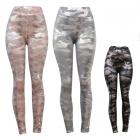 10096 Metalic Camo Leggings