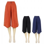 10133 Unbalanced Gaucho Pants