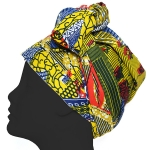 KJ004G African Turban Scarf Head Wrap