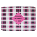 11127 Double Plaid Pattern Blanket