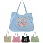 11739 letter Beach Bag (Tote)