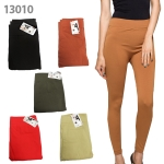 13010 Seamless leggings with napping inside