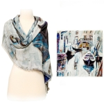 15HYSF3052 Square Wool Scarf