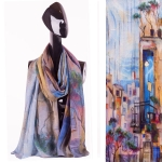 15SXC249 Rectangle Chiffon Scarf