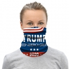 S-109 Trump Support Pattern Neck Gaiter (1DZ)