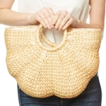 CB9688 Handmade Straw Beach Bag