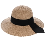 AO3098 Woven Hat W/Band, Khaki