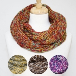 50035 Cable Knitted Infinity Scarf