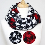 50043 Cable Knitted INfinity Scarf