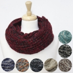 50067 Knitted Glitter Infinity Scarf