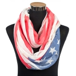 50163 American Flag Infinity Scarf
