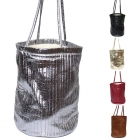 555# Faux Leather Bucket Bag