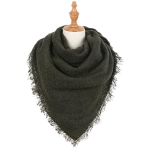 AO6052 Soft Solid Square Scarf