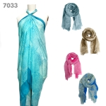 7033 Spider Web Pattern Scarf