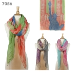 7056 Statue Of Liberty Scarf