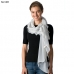 CS8305 Metallic Ruffle Scarf