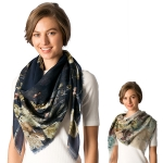CS8306 Floral Digital Print Scarf