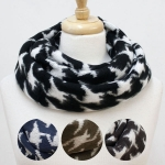 8401 Hound tooth Pattern Infinity Scarf