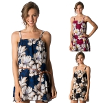 CP8560 Floral Print Cover-up with Belt