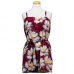 8560 Floral Print Cover-up with Belt