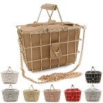 9042 Deer Basket Bag