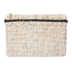 90970 Tweed Cross-body Bag, Ivory