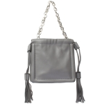 91901 Solid Color Mini Tote Bag, Grey