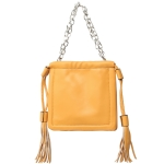 91901 Solid Color Mini Tote Bag, Yellow