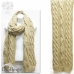 9303 Large Knit Scarf