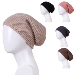 AO381 KNITTED BEANIE HAT