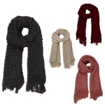 AO553 SOLID WOVEN SCARF