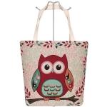 AO748 Owl Tote Bag