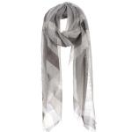 AO578 Plaid Scarf, Grey