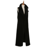 AO6073 Long Boucle Vest, Black