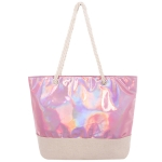 AO760 Hologram Tote Bag, Pink