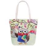 AO828 Owl Tote Bag