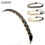 AHB088 GOLD STITCH GORGEOUS HAIR BAND