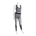 AO1052 RIPPED SPORTS SET (GREY)
