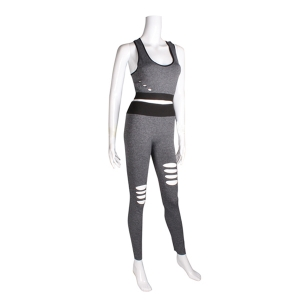 AO1053 RIPPED SPORTS SET (GREY)