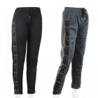 AO1089 Lace-up Fleece Lined Leggings