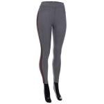 AO1182 Stripe Trimmed Leggings, Grey