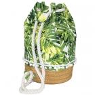 LOA118 Leaf Bucket Bag