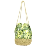 LOA119 Leaf Bucket Shoulder Bag