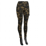 AO1255 Camouflage  Print Leggings
