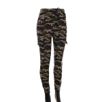 AO1292 Camouflage Pattern Legging w/Pockets, Olive