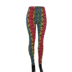 AO1295 Rainbow Color Leopard Pattern Legging