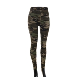 AO1298 Camouflage Pattern Leggings, Olive